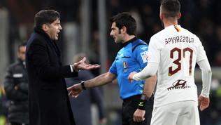 Genoa-Roma 1-3, giallorossi al quarto posto