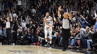 Nba: gli Spurs spazzano Miami grazie anche a Belinelli