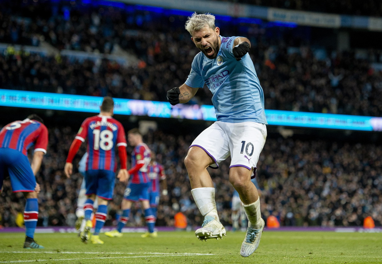 7. Sergio Aguero, Manchester City (15 gol, 30 punti)