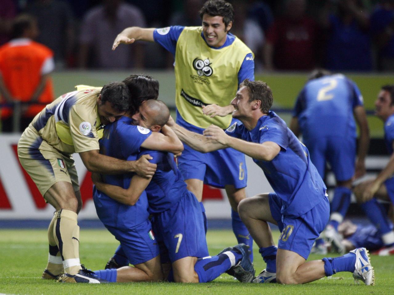 9 luglio 2006: l'Italia batte la Francia e vince il suo quarto Mondiale di calcio