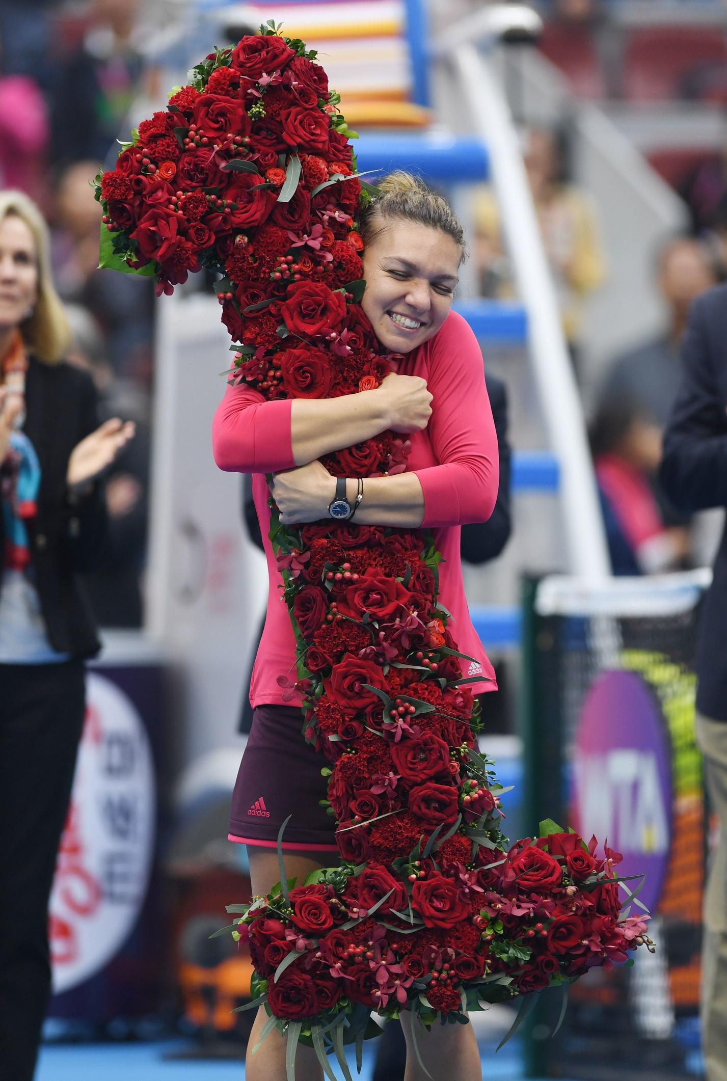 7 ottobre 2017: Simona Halep diventa numero 1 WTA