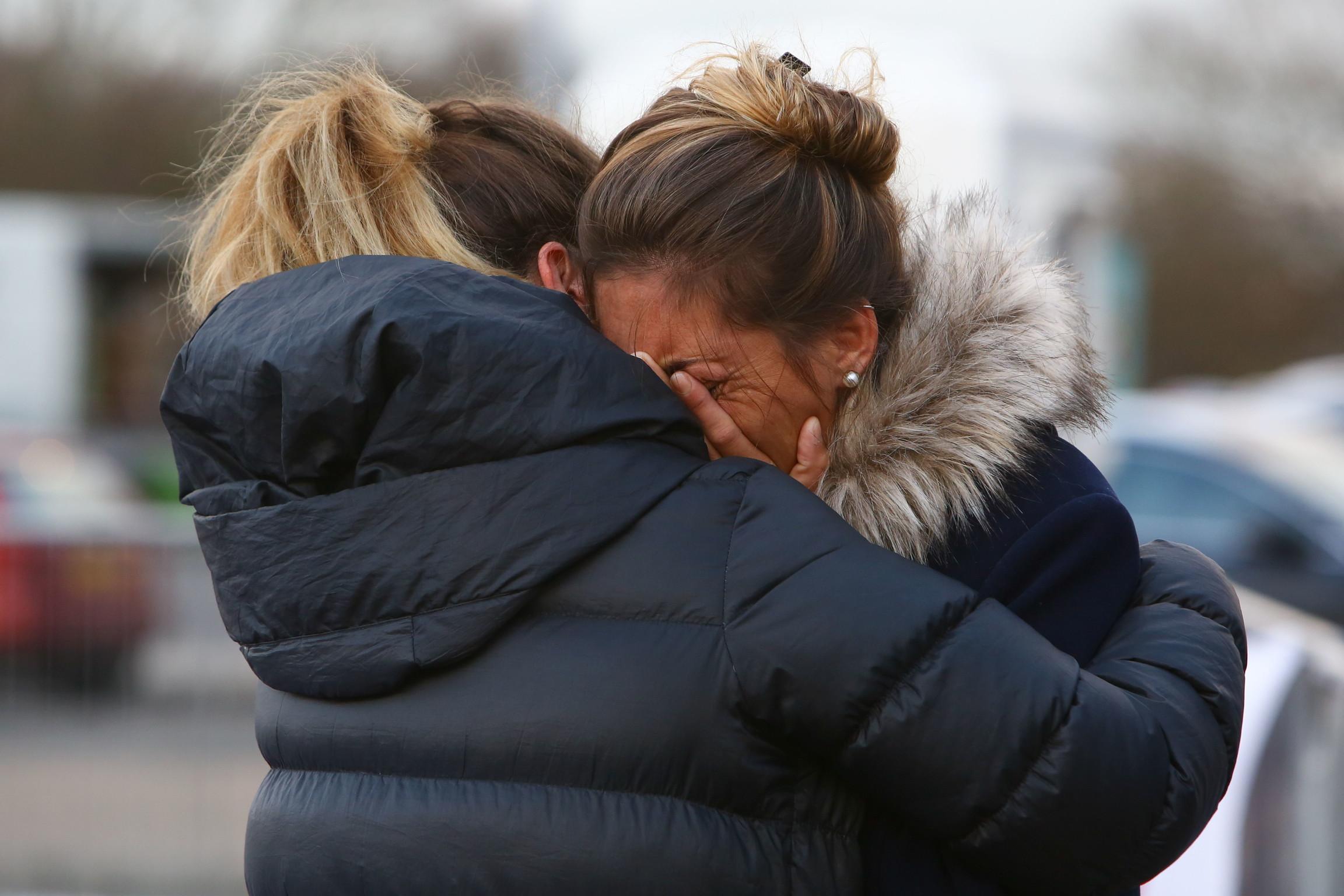 25 gennaio 2019: la disperazione dopo la morte di Emiliano Sala