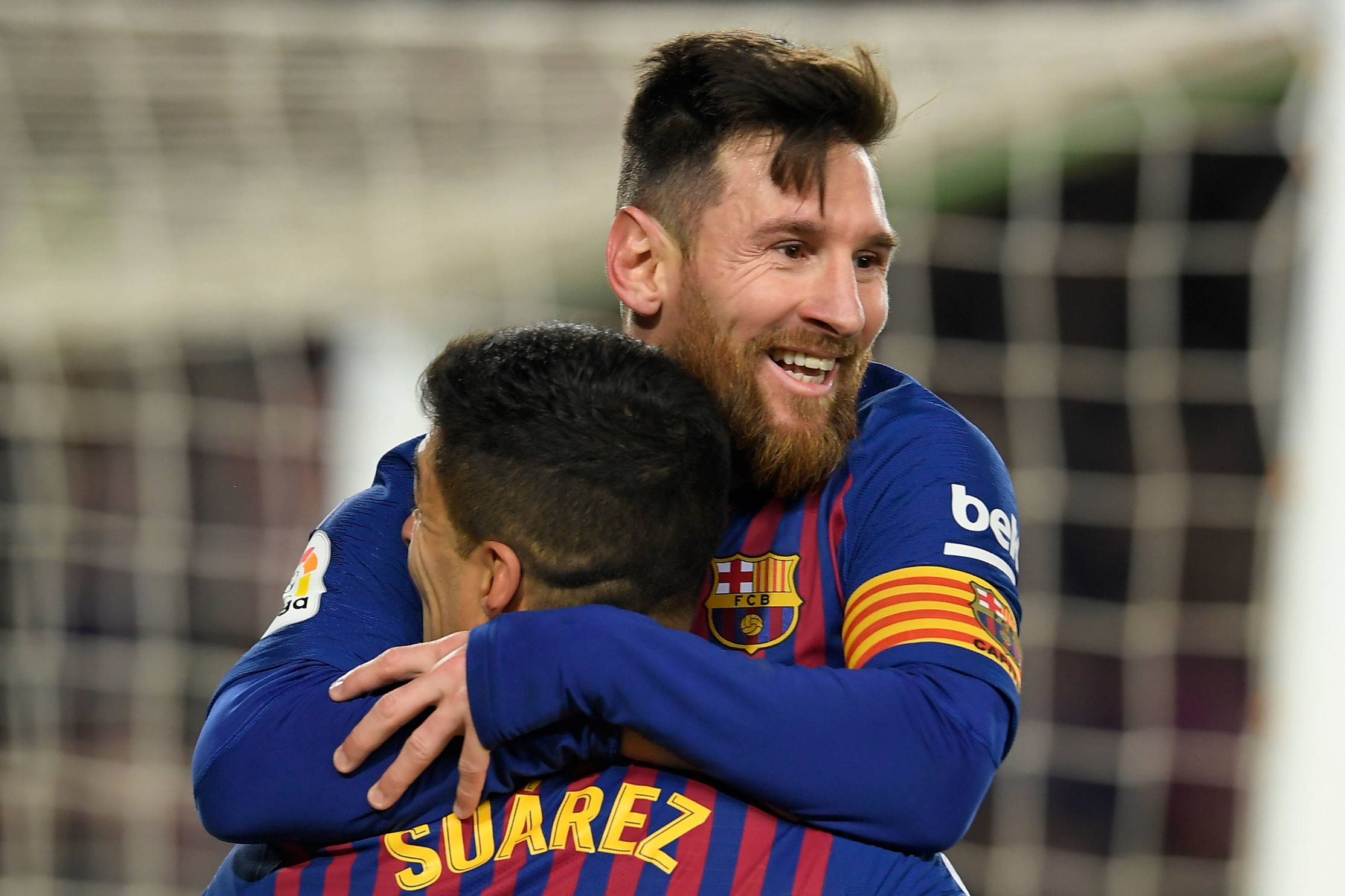 30 gennaio 2019: Messi e Suarez al Barcellona