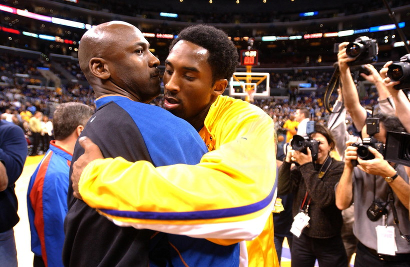 12 febbraio 2002: Michael Jordan e Kobe Bryant