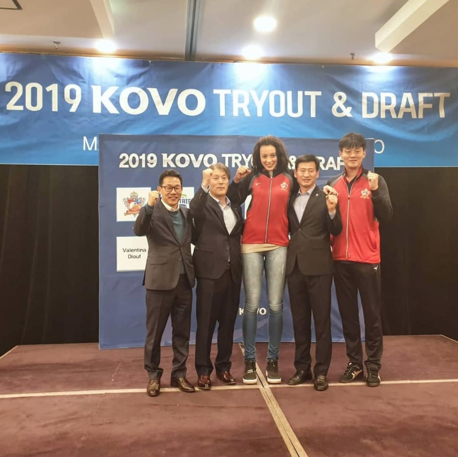 Nel 2019 è la prima scelta al try-out della V-League sudcoreana: per Valentina inizia una nuova esperienza con il KGC Ginseng.