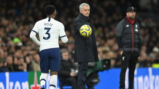 Polveriera Spurs: dura lite Mourinho-Rose in spogliatoio