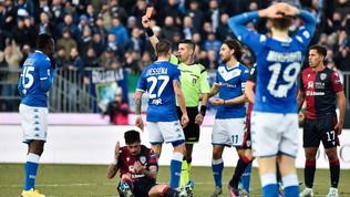 Balo, il 'Vaffa' all'arbitro ti costa due giornate: salta Milan e Bologna