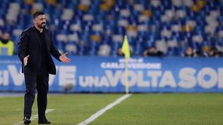 """Napoli, Gattuso: """"Grandissima vittoria, io devo dare serenità"""""""