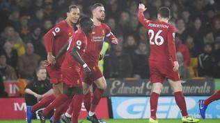 Liverpool, ci pensa Firmino: Wolvesbeffati nel finale