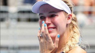 Tennis,lacarriera di CarolineWozniacki finisce in lacrime