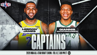 All Star Game, LeBron e Giannis capitani: ecco i quintetti