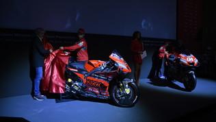 Ducati, svelata la GP20 di Dovi e Petrux
