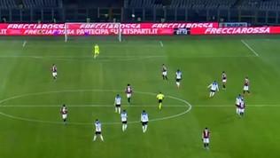 """""""Cecchino"""" Ilicic, gol da centrocampo"""