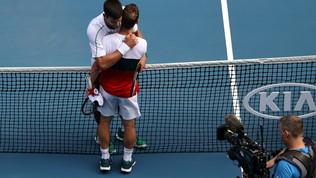 Djokovice Federer senza problemi, finisce la favola Gauff