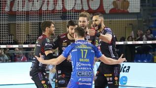Civitanovabatte Trento e ipoteca i quarti di finale