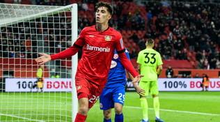 Il Leverkusen è quinto, Düsseldorf battuto 3-0. Hoffenheim ok