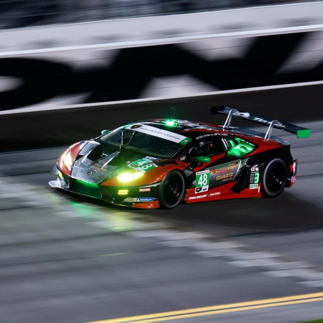 Lamborghini, che doppietta a Daytona