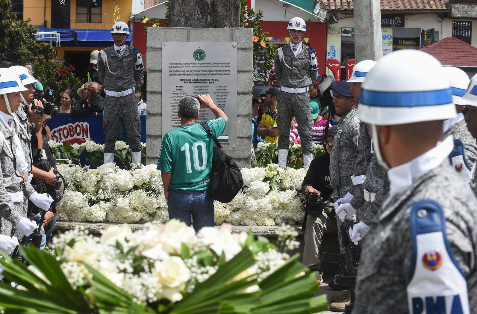 29 novembre 2016: cade l'aereo della squadra di calcio brasiliana della Chapecoense, 71 i morti