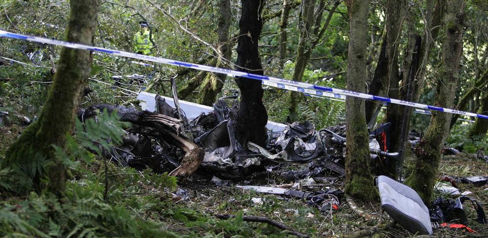 15 settembre 2007: l'elicottero pilotato da Colin McRae, leggenda del rally, cade in Scozia, con lui muore anche il figlio di 5 anni