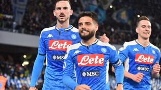 Gode Napoli: Gattuso piega Sarricon un super Insigne