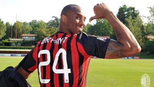 Milan-Torino, raccoglimento e lutto al braccio per Kobe Bryant