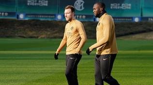 Inter, primo allenamento per Eriksen