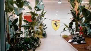 F1, primo rombo della nuova Ferrari