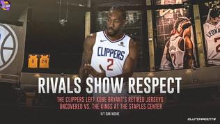 Los Angeles omaggia Kobe, Clippers ko in un clima surreale