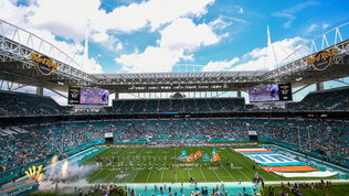 La casa del Super Bowl LIV: l'Hard Rock Stadium di Miami
