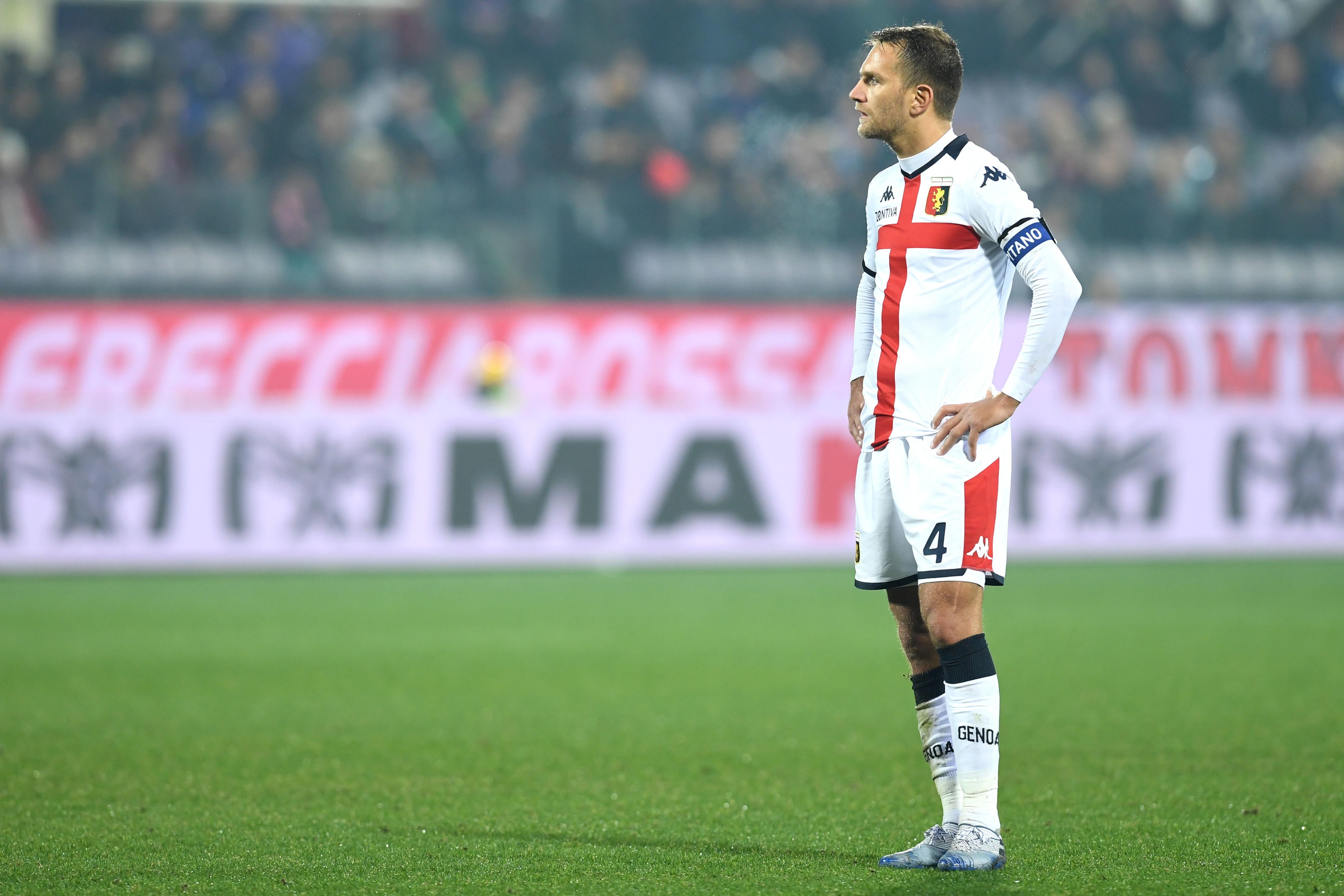 Criscito-Fiorentina: il capitano del Genoa si è opposto alla cessione in viola quando tutto sembrava fatto