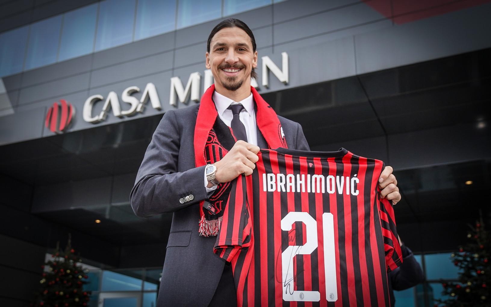 ZLATAN IBRAHIMOVIC al Milan, svincolato dai Los Angeles Galaxy