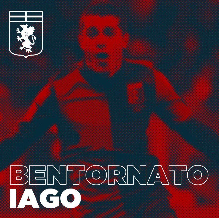 IAGO FALQUE al Genoa dal Torino