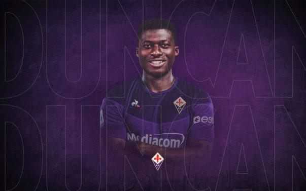 ALFRED DUNCAN alla Fiorentina dal Sassuolo