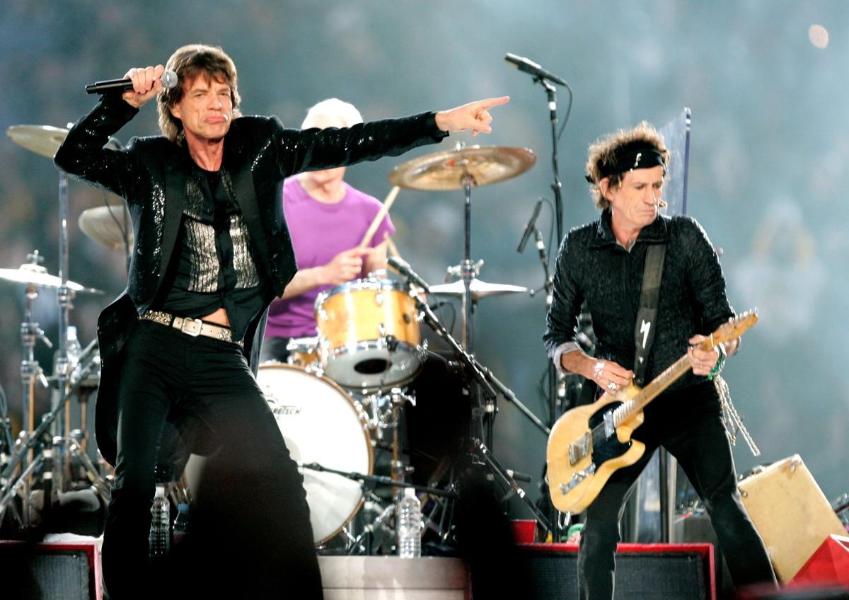 Energia da vendere nel 2006 per gli immortali Rolling Stones.
