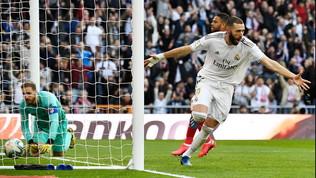 Liga: il Real Madrid vince il derby 1-0 e consolida la vetta, Florenziesordisce con una vittoria