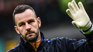 Allarme Handanovic, problema a un dito: a rischio anche per il derby
