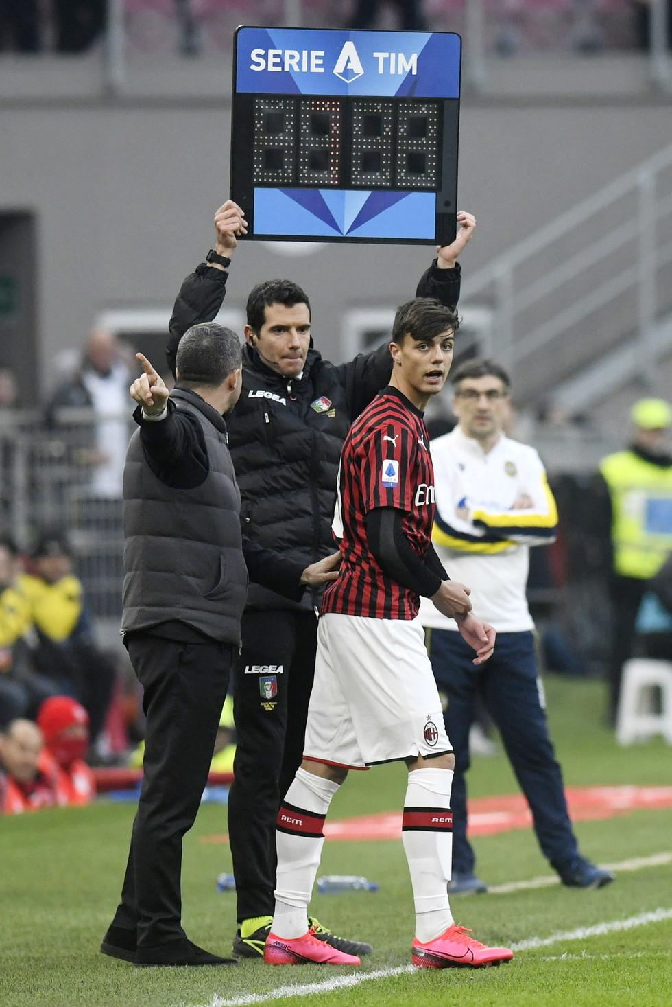 Daniel, figlio di Paolo, ha debuttato in Serie A contro il Verona.