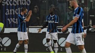 L'Inter batte Udinese e pareggite  con super-Lukaku. Eriksen in ombra
