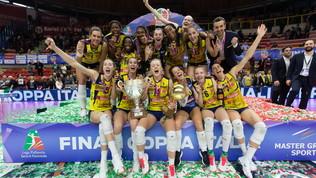 C'è solo Conegliano: la Coppa Italia è gialloblù!