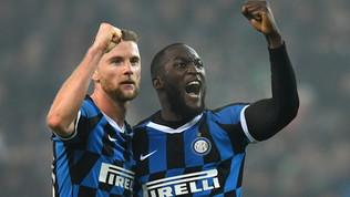 Doppio Lukaku, l'Inter torna alla vittoria