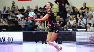 Il secondo debutto di Piccinini nella finale di Coppa Italia