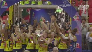 Volley, Conegliano si prende anche la Coppa Italia