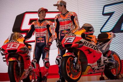 Svelata la Honda, sempre con i colori Repsol, per il prossimo Mondiale MotoGP.