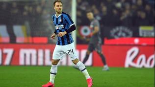 """Inter, Eriksencarico per il primo derby: """"Non temo nessuno del Milan, qui per lo scudetto"""""""