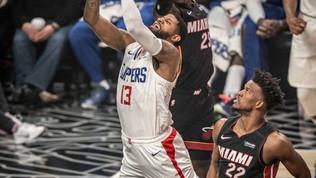 Leonard flop non rallenta i Clippers, Gallinariverso Miami