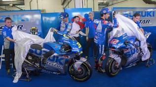 La Suzuki si tinge d'argento per sfidare Honda e Ducati