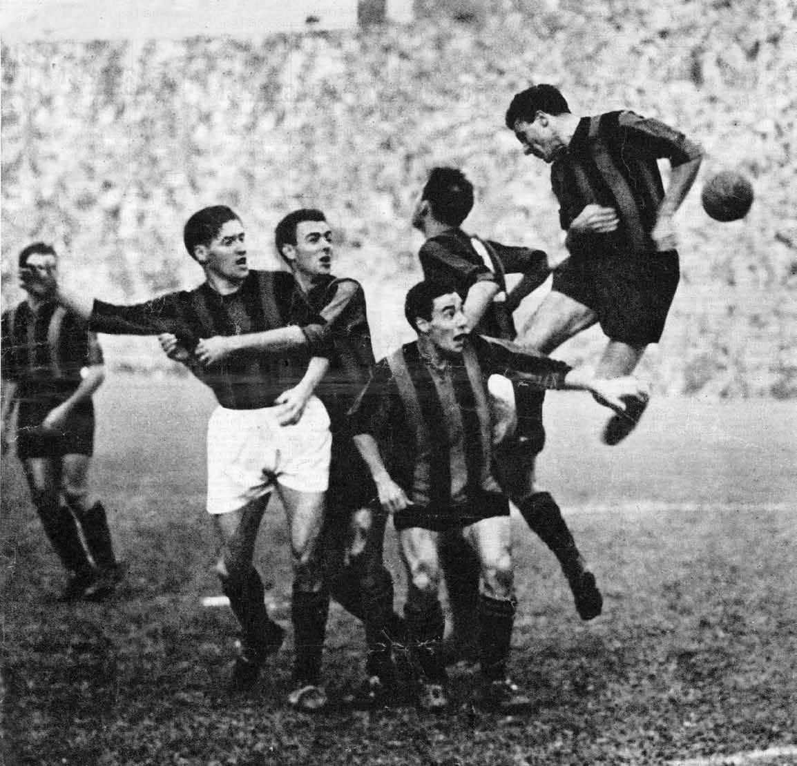 PARTITA CON PIÙ GOL: 11, Inter-Milan 6-5 del 6 novembre 1949