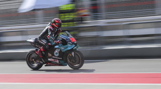 Test MotoGP, Quartararo è già carico