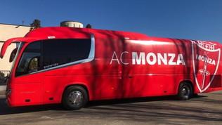 Monza, il nuovo pullman fa l'esordio