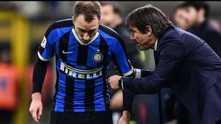 Conte cambia per sorprendere il Milan: Eriksensotto-punta con Lukaku